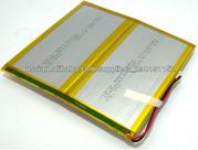 3.7в 7200мАч литий-ионный полимерный аккумулятор для планшетника